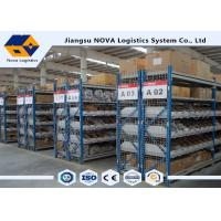 China Plywood Deck Longspan Shelving Max 500 Kg Per Level Galvanised Finish For Steel Panels wholesale