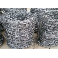 China PVC Coated Hot Dipped Galvanized Barbed Wires wholesale