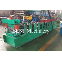 Buy cheap High Precision Ridge Cap Roll Forming Machine For Roof Tile / IBR Roof Sheet from wholesalers