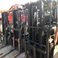 China USED TOYOTA FD30/FD50 FORKLIFT JAPAN brand FD160 10TONS forklift for sale WITH BEST PRICE wholesale
