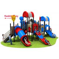 China High Creativity Outdoor Playground Slides Durable UV - Resistant Security Oriented wholesale