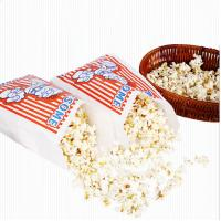 China Customized Popcorn Snack Bags , Biodegradable Paper Popcorn Chip Bag wholesale