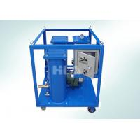 China Triple Stage Filtering Portable Oil Purifier Machine With Electric Control Box wholesale