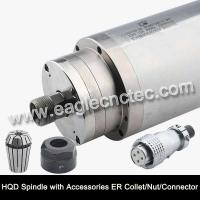 China Water Cooled Spindle Motor HQD 2.2kw 3.2kw 4.5kw 5.5kw for CNC Router wholesale