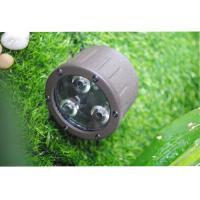 Buy cheap 3 LED Landscape Spotlight Color Temperatures 3000K 35 ° Beam Angles from wholesalers