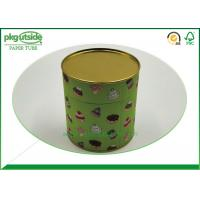 Quality Gift Cardboard Tube Containers , Elegant Design Paper Cylinder Packaging for sale