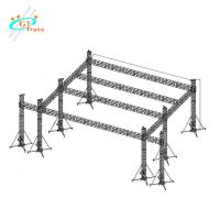 China Aluminum Outdoor Concert Stage Small Concert Sound Lighting DJ System Stage wholesale