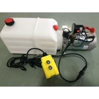 Quality mini Hydraulic Power Packs 12V DC 1.6kw with 8L plastic tank max pressure 210bar wholesale