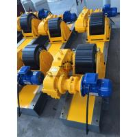China Heat Exchanger Production 20T Tank Turning Rolls Heavy Duty Gearbox Double Driving wholesale