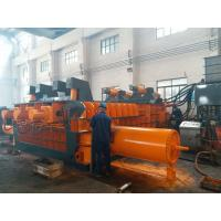 Buy cheap Automatic Control Power 180kW Scrap Baler Machine , Hydraulic Baling Press Machine from wholesalers