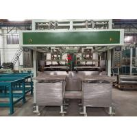 Buy cheap Auto Paper Pulp Moulding Machine Two Stations 100~150 kg/h Capacity from wholesalers