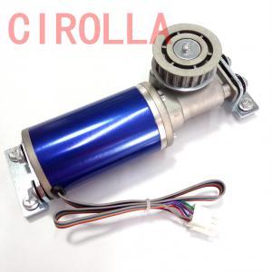 Quality 24V 75W  Blue Circular brushles  Glass sliding door motor Casing diameter 60.5mm wholesale