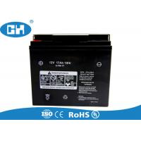 China Custom 12v 7ah Scooter Battery , High Performance Motorcycle Battery Acid Pack wholesale