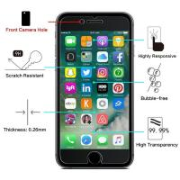 China High Definition 2.5 D Tempered Glass Screen Protector Bubble Free For IPhone wholesale