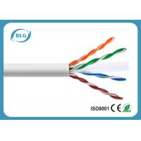 China Cat6 Ethernet LAN Cable 23AWG 24AWG CU CCA 4 Pairs 1000FT Networking Cables wholesale