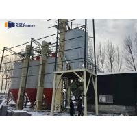 China Floor Mortar Concrete Manufacturing Plant Water Proof With PLC Control System wholesale