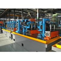 China Steel ERW Pipe Mill / Straight Seam Welded Pipe Production Line wholesale