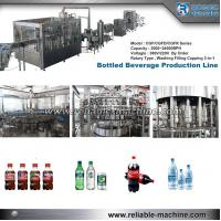 Quality Soft Drink Filling Line For PET Bottles Stainless steel 304 For New Factory for sale