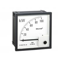 China 72 * 72mm 3P4W Analogue Panel Power Meter Direct Acting Indicating on sale