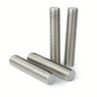 China Stainless Steel Galvanized Threaded Rod For Electronic Equipment / Building wholesale