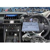 Buy cheap Android 7.1 Car Multimedia System for 2017-2018 Lexus Is 200t Mouse Control with from wholesalers
