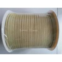 China 10*3mm North Glass Furnace Kevlar Aramid Fiber Rope For Glass Tempering Furnace wholesale