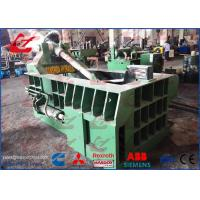 China Aluminum Sheets Scrap Metal Baler Compactor With 125 Ton Press force wholesale