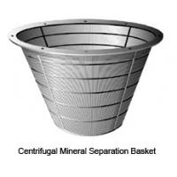 China Stainless Steel 304 2205 Saf 2507 UNS S31803 UNS S32205 UNS S32750 UNS S32760 Centrifugal Mineral Separation Baskets wholesale
