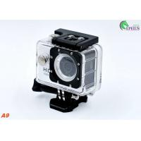 Diving 5MP Head Camera Waterproof ,  A9 140degree Lens Gopro Bike Helmet Mount Cam