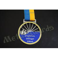 China Village 10k Finisher Medals , Custom Diecast Medals For Running Events wholesale