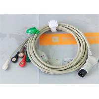 China TPU Material Patient Monitor Accessories One Piece ECG Cable Compatible M&B wholesale