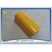 China Yellow Spray Painting Aluminum Parts Manufacturing For Construction and Industry on sale