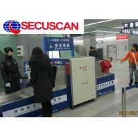 Quality High Resolution Color X Ray Security  Luggage And Baggage Screening Equipment at Embassies for sale
