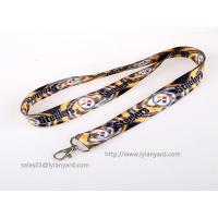 China Double Sides Dye Sublimation Soft Printed ID Neck Lanyard, Holiday ID Lanyard wholesale