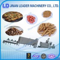 China Textured soya protein Vegetarian soya meat Soya nugget food machine wholesale