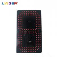 China 12 Inch LED Digital Board 7 Segment Digit Of Leds In Red Color Wide View Angle wholesale