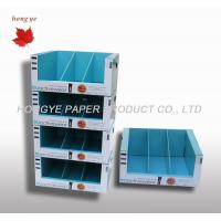 Quality Decorative Corrugated Paper / Cardboard Display Stands For Mall for sale