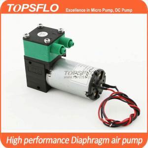 China TOPSFLO dc mini diaphram pressure/vacuum pump similar to Parker,Thomas. aroma diffuser  pump TM30B-A wholesale