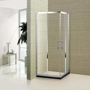 China Easy Clean Sliding Door 6mm Glass Bathroom Shower Room Enclosure wholesale