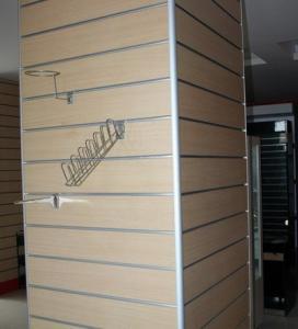 China MDF Slot Board For Shops,Supermarket Decoration wholesale