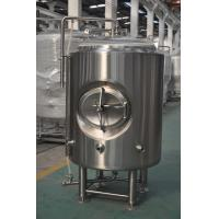 China Bar 5HL Jacketed Bright Beer Tank With Stainless Leveling Footpads wholesale