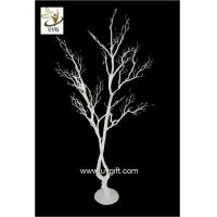 China UVG white artificial twig tree with PE plastic branches for wedding decoration ideas DTR28 wholesale