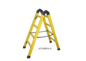 China A Frame 6ft 2X7 Fiberglass Folding Ladder wholesale