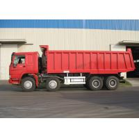 Buy cheap 8x4 HOWO Sinotruk Tipper Dump Truck With 6800x2300x1500 Box Size from wholesalers