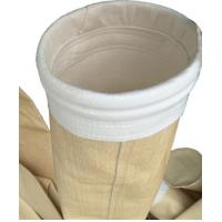 Buy cheap Non Woven Industrial Dust Filter Bag P84 Material Ce Approval For Asphalt from wholesalers