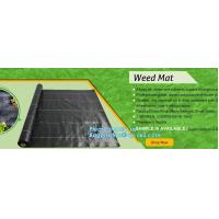China pp weed mat organic agricultural plastic mulch, recyclable weed barrier,PP ground mat /concert crowd control barrier wee wholesale