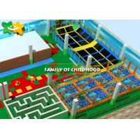 Buy cheap Gymnastic Attractive Trampoline Exercise Equipment Fun Exciting Solid Wood from wholesalers