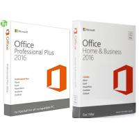 China Microsoft Office Pro 2016 Office 365 Product Key Card  / OEM / Retail Version wholesale