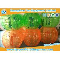 Full Color PVC Inflatable Bubble Ball Football For For Humans Game
