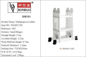 China Foldable 4x2 3.9ft Multi Purpose Scaffold Ladder wholesale